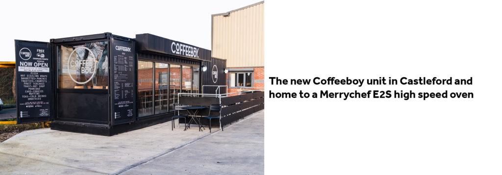 Coffeeboy Castleford Exterior